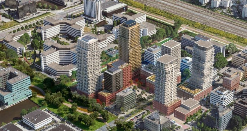 Heyday ontwikkelt SPOT_ON in Amsterdam-Zuidoost