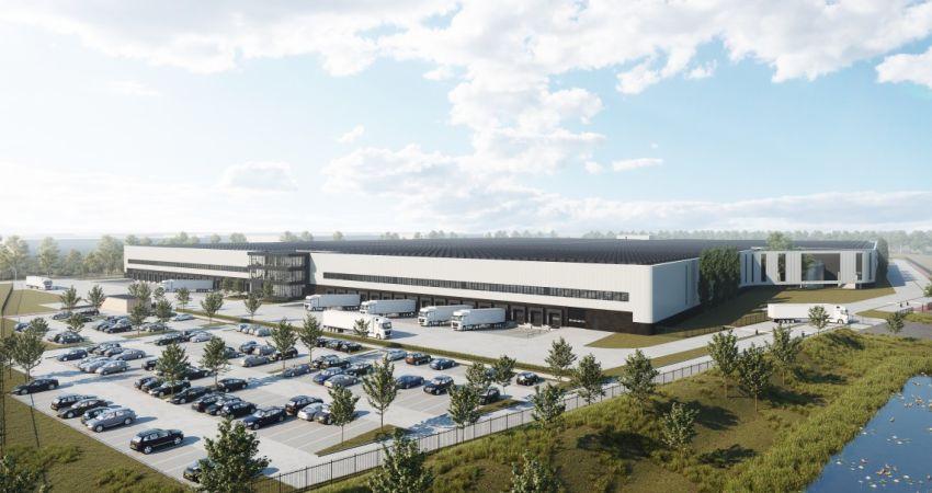 Twee nieuwe opslagcentra van 85.000 m2 verrijzen nabij Venlo