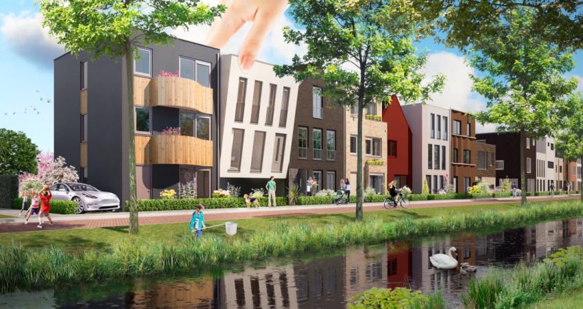 Garden Village Aalsmeer: 24 verschillende designhuizen