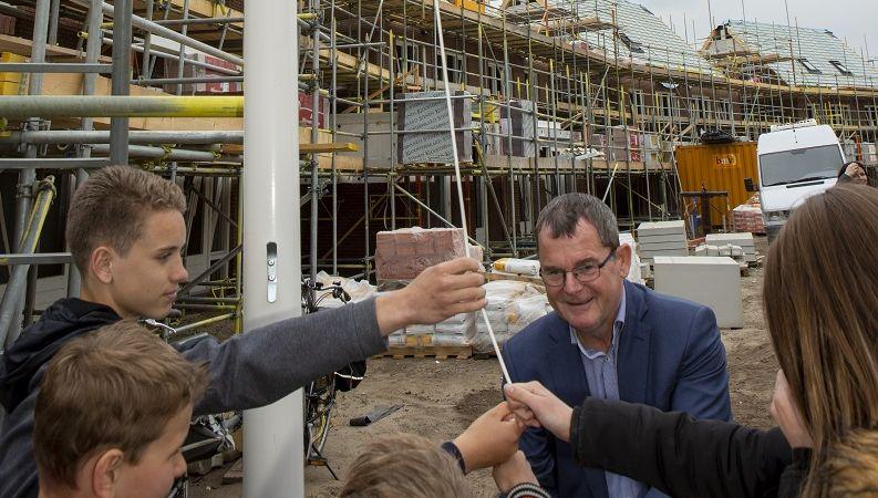Hoogste punt nieuwbouwproject Zandven in Veldhoven