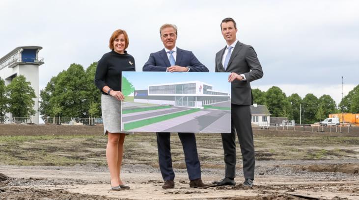 Nieuw hoofdkantoor en deegfabriek voor Domino's Pizza in Nieuwegein