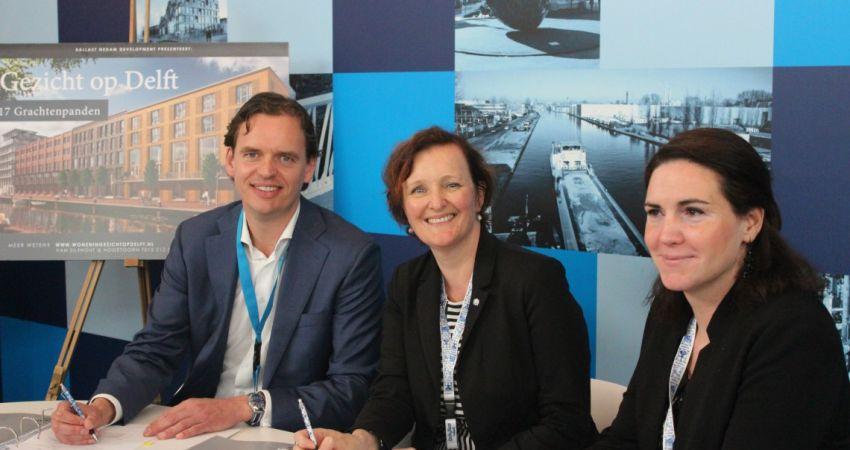 Woningbouw in Nieuw Delft groeit gestaag