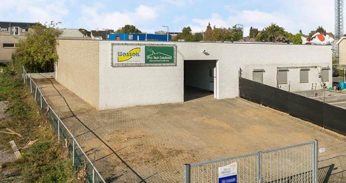 Wegenbouwer huurt bedrijfshal in Landgraaf
