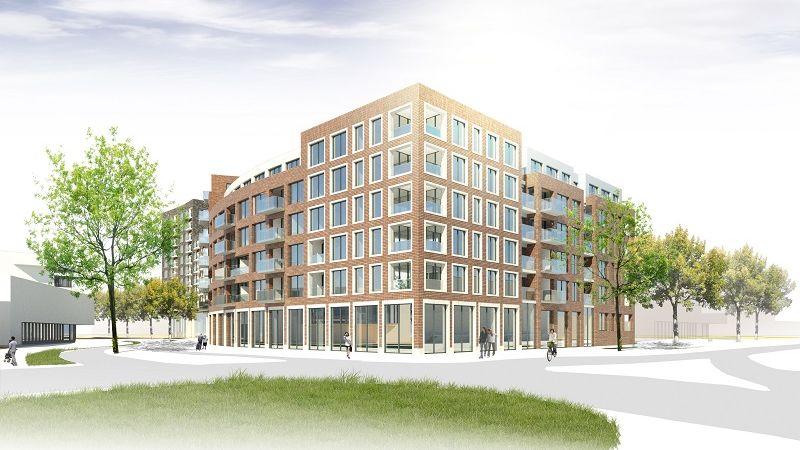 In Alphen aan den Rijn is begonnen met bouw 121 appartementen