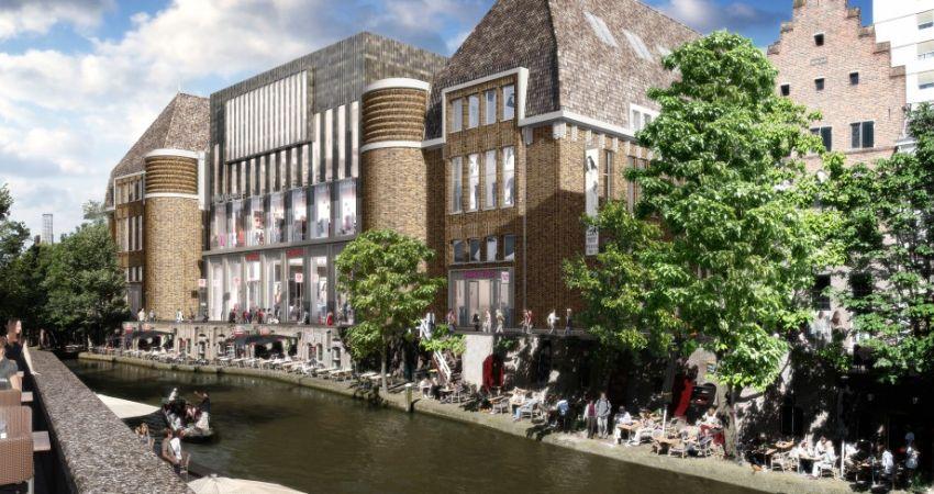 'Post Utrecht geeft dit gesloten gebouw weer terug aan de stad'
