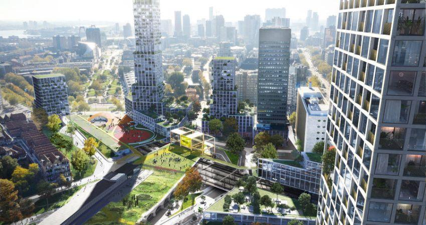 Nieuw stukje Rotterdam met herontwikkeling Pompenburg