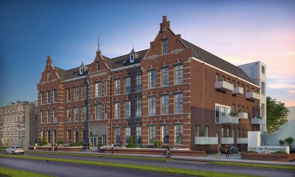 SPF Beheer verwerft 40 lofts in getransformeerde Ambachtsschool