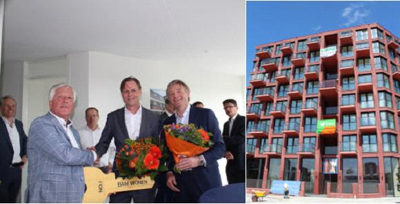 BAM Wonen levert 70 huurappartementen op in Amstelkwartier