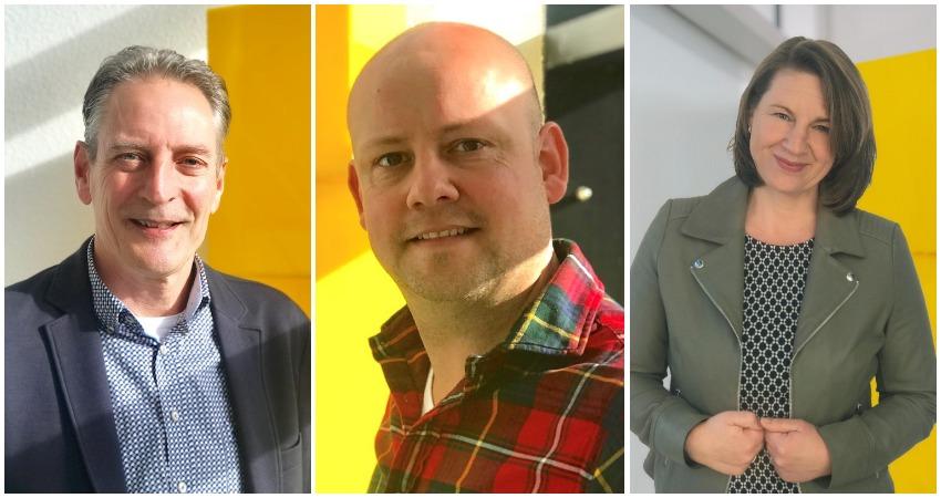 Drie nieuwe medewerkers bij BOAG Advies en Management