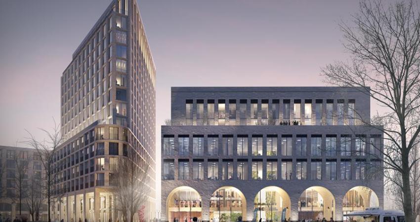 Grote kantoorontwikkeling van 12.500 m2 op stapel in Leidsche Rijn Centrum