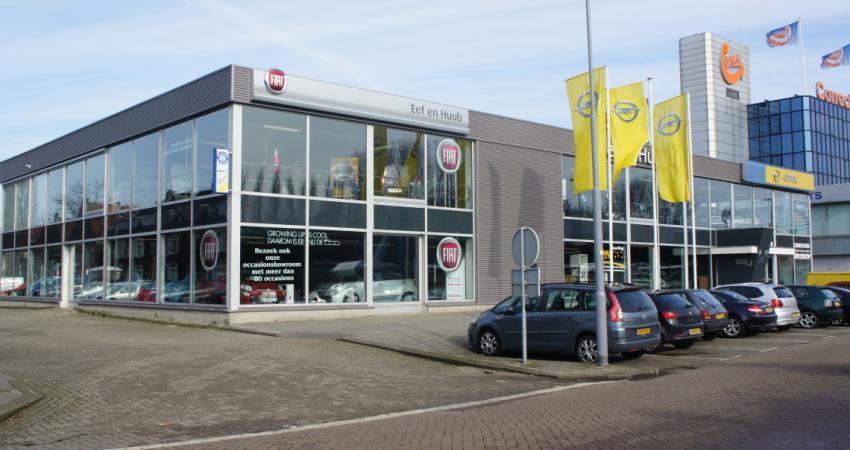 Voormalige autoshowroom in Rotterdam wordt sportschool