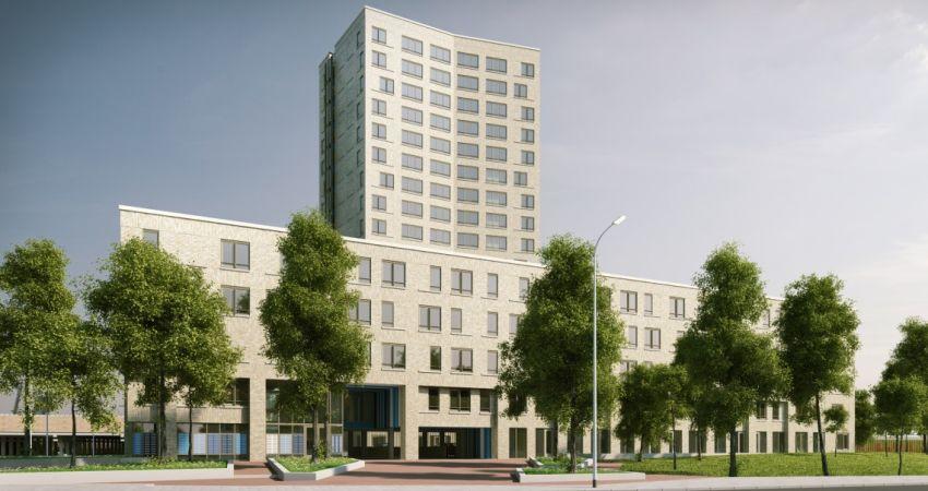 Camelot en NBU starten bouw van 285 sociale huurwoningen in Delft