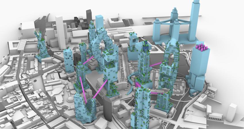 Zo gaat de skyline van de toekomst eruit zien