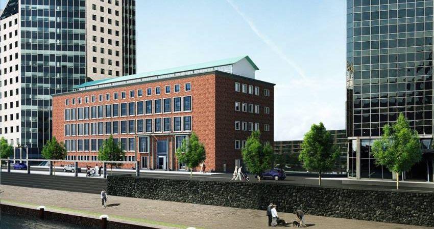 Rotterdams kantoorgebouw na herontwikkeling weer bijna vol