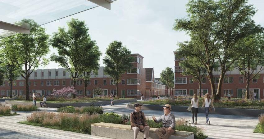 Nieuwe woonwijk op terrein voormalig Zaans Medisch Centrum