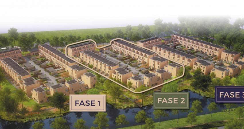 Woonproject Engelse Park in Groningen gestart met tweede fase
