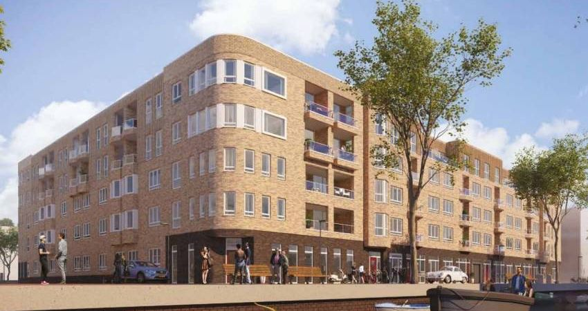 Habion koopt 39 woningen in Amsterdamse Houthavens
