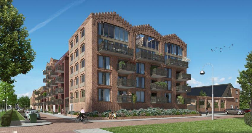 Nieuwbouwproject Het Gemaalhuis in Hoofddorp in de steigers