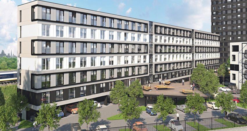 Voormalig belastingkantoor wijkt voor groot wooncomplex in Utrecht