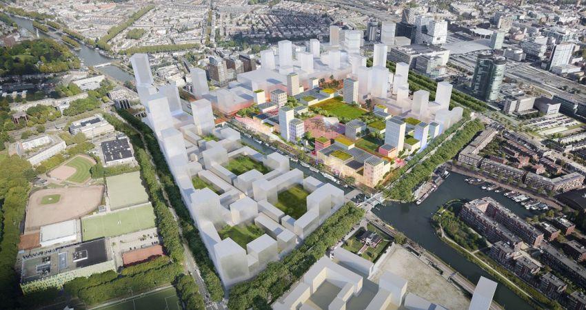 Ambitieus masterplan wil nieuw leven blazen in Jaarbeurs en omgeving