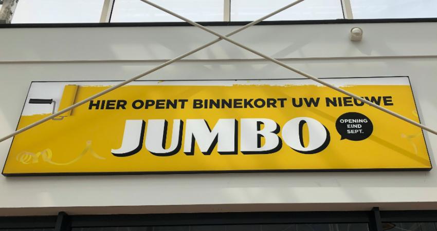 Jumbo opent inwinkelcentrum Nova in Utrecht
