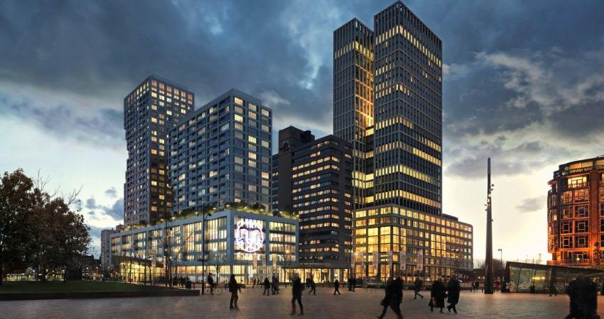 Grote huurder gezocht voor nieuw mixed-use complex in Rotterdam