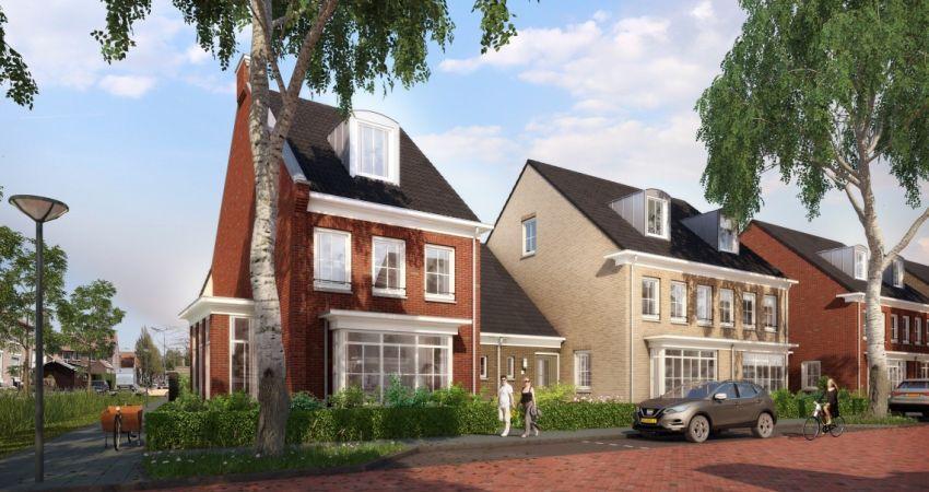 Timpaan en gemeente Lisse tekenen voor 60 woningen in Nieuw Meerzicht