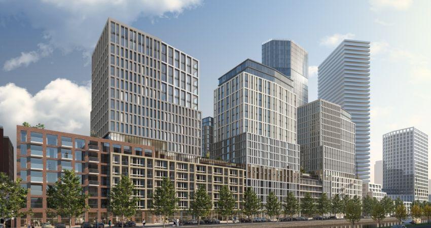 Plannen voor woontoren van 120 meter in Den Haag