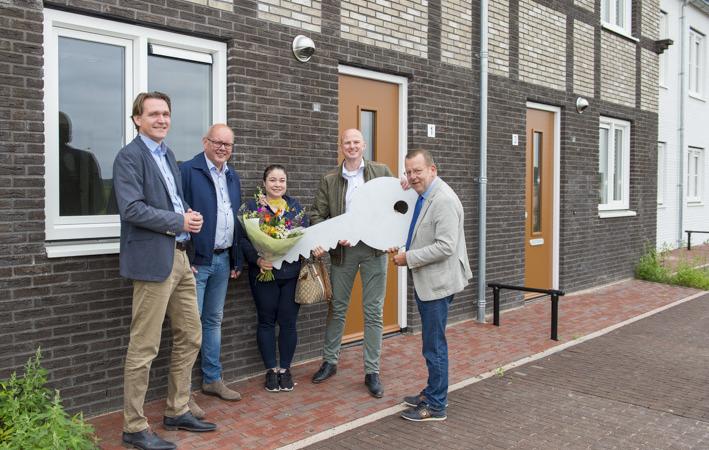De Alliantie levert energiezuinige woningen op in Zuidpolder