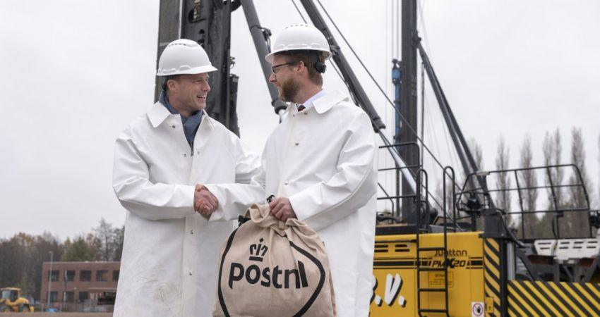 Bouw nieuw pakkettensorteercentrum PostNL in Dordrecht van start