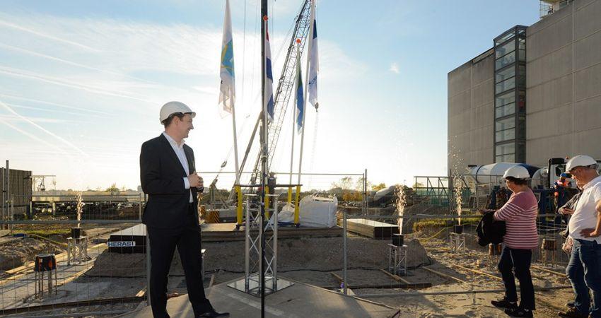 Skyline Spijkenisse uitgebreid met tweede toren Terras aan de Maas