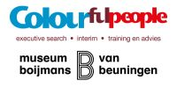 Museum Boijmans van Beuningen via Colourful People logo