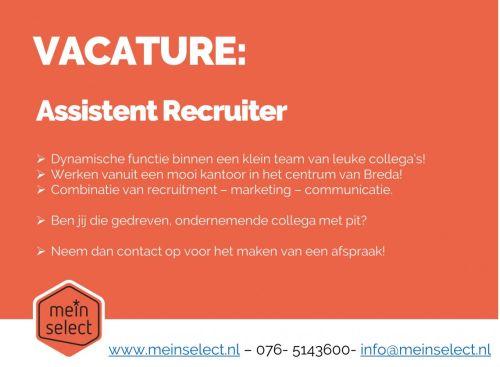 Assistent Recruiter (bouw en vastgoed) afbeelding