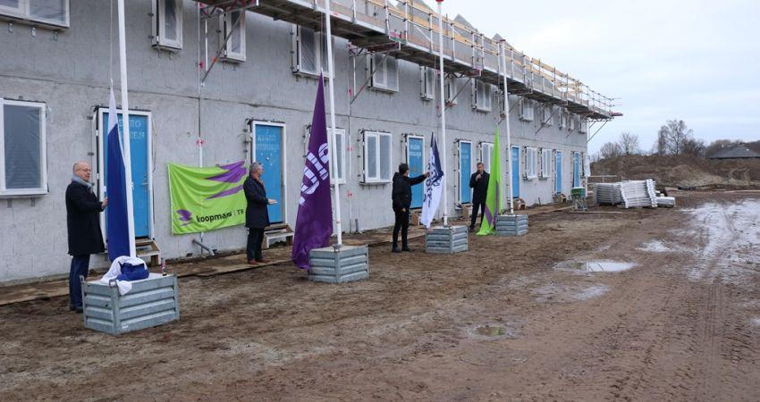 Woonwijk De Nieuwe Es in Hengelo vordert gestaag
