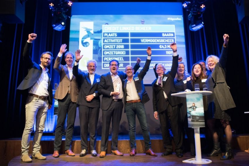 Credit Linked Beheer winnaar FD Gazellen Top 100