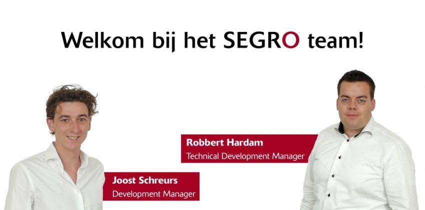 SEGRO Nederland stelt nieuwe Manager Development en Manager Technical Development aan