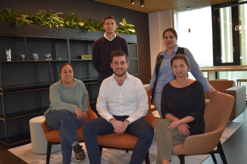 Vijf nieuwe medewerkers voor Heimstaden