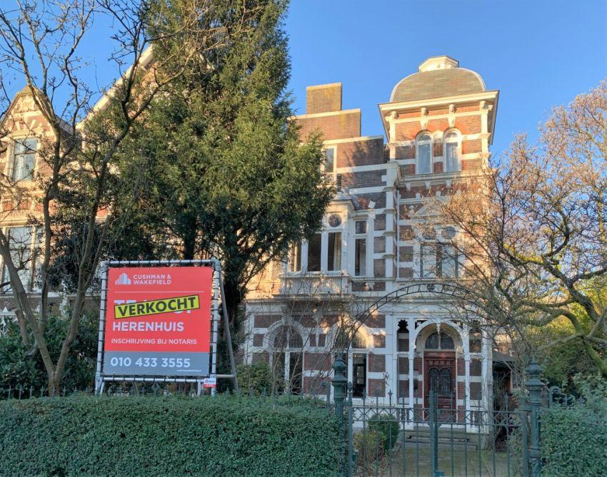 Looije Properties koopt monumentaal herenhuis aan in Rotterdam